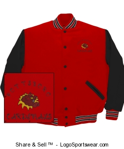 Game Varsity Jacket Design Zoom